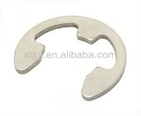 Retaining rings for shafts(E-rings) circlips DIN6799 retating washer